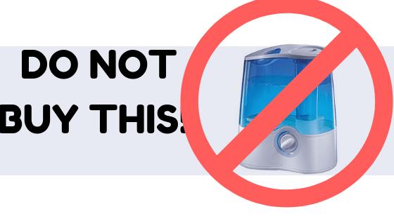 do not buy vicks cool mist humidifier
