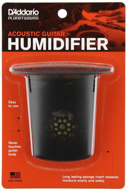 best humidifier for guitar room - D'Addario Planet Waves Acoustic Guitar Humidifier