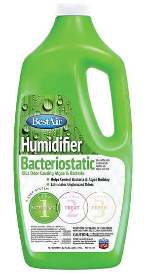 Humidifier Bacteriostatic Water Treatment