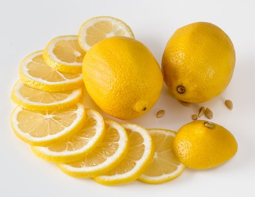 lemon juice for citrus aroma