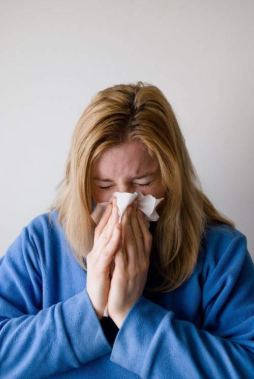 dryness and humidity can cause allergy