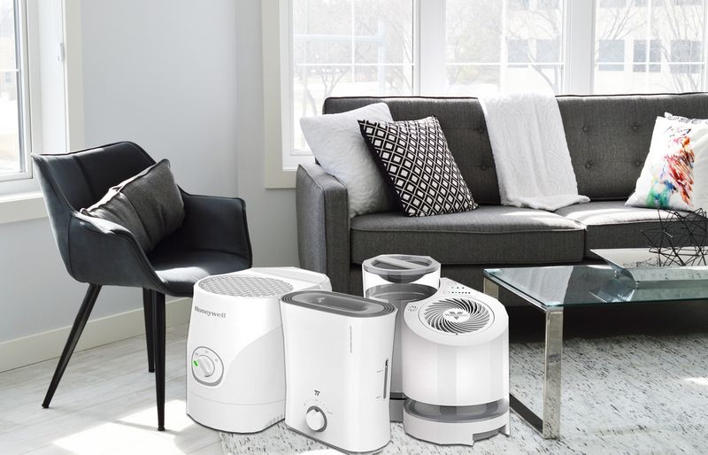 best humidifier without white dust
