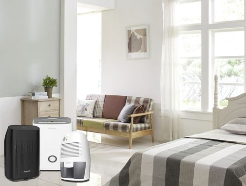 does dehumidifier cool a room