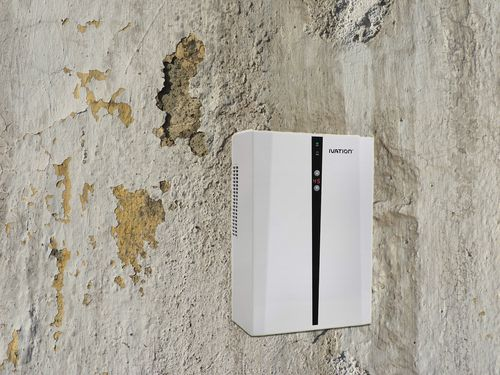 will dehumidifier dry damp walls