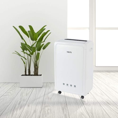 How long to use a dehumidifier when drying a room