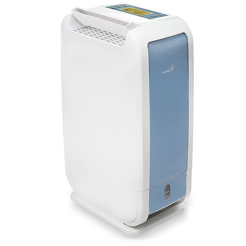 Ivation 13-Pint Small-Area Desiccant Dehumidifier Compact and Quiet - With Continuous Drain Hose for Smaller Spaces, Bathroom, Attic, Crawlspace and Closets.