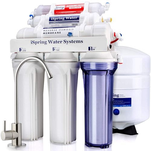 iSpring RCC7AK 6-Stage Water Filtration System