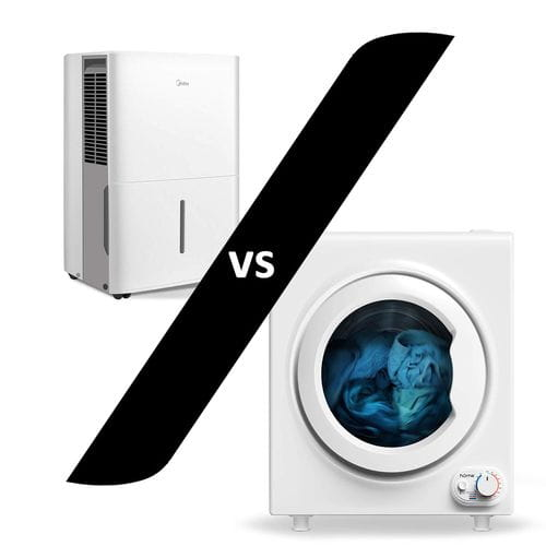 Dehumidifier vs Tumble dryer