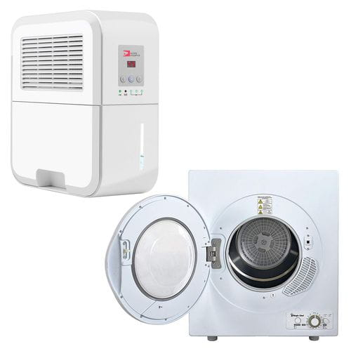 Differences between dehumidifier vs tumble dryer