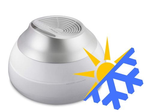 Warm or Cool mist humidifier in Winter
