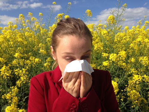 People Suffering from Allergies, Cough, Asthma
