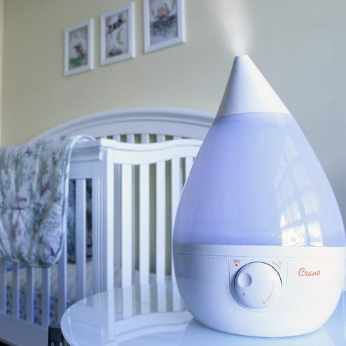 Wickless Humidifier for Light Sleepers, Kids and Babies