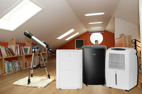 Best dehumidifier for attic