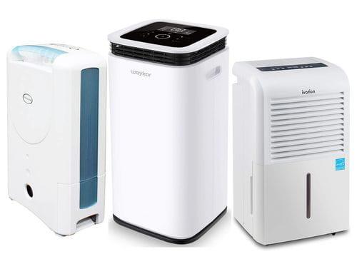 types of dehumidifier