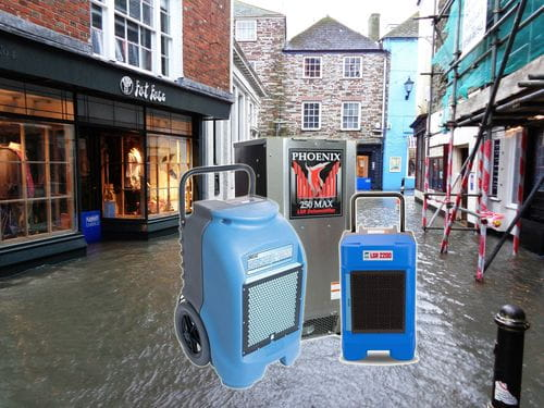 best dehumidifier for flood damage