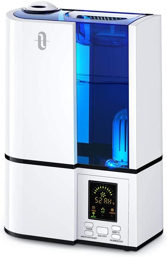 TaoTronics Humidifiers, 4L Cool Mist Ultrasonic Humidifier
