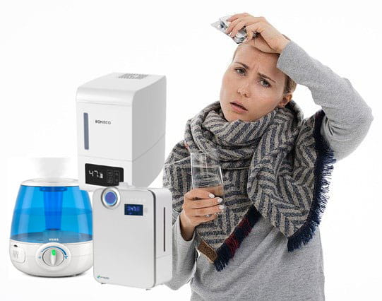 does humidifier help cold